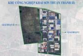 Chính chủ cần bán đất 10.000m2, 20.0000m2 trở lên trong KCN Khai Sơn, Thuận Thành, Bắc Ninh