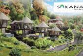 Dự án nghỉ dưỡng Hồ Dụ, Phân khu Sakana Resort nhà nón tại Hòa Bình