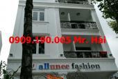 Cho thuê nhà nguyên căn góc 2 mặt tiền Đường Trần Quang Diệu - Phường 13 - Quận 3.