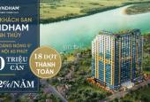 Căn hộ Wyndham Thanh Thủy, cam kết LS 12%/năm, CK lên tới 8,5%, giá chỉ 780tr/căn, 0859990768