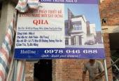 Cần bán gấp nhà 3 tầng đang xây tại lô góc đường Dương Văn An, Sơn Trà