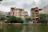 Hiếm, bán nhà mặt hồ Trung Kính, Q. Cầu Giấy, 125m2 x 5 tầng, gara, view hồ, giá 17.5 tỷ