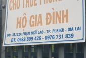 Cho thuê nhà trọ, phòng trọ đường Phạm Ngũ Lão, Phường Trà Bá, Plei Ku, Gia Lai, diện tích 24m2