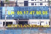 Chính chủ gửi bán căn hộ Homyland Riverside, Dt 95m2 đến 107m2. LH: 0917479095