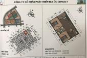 Cần bán căn CC khu đô thị Thanh Hà Cienco 5 B1.4, S (65m2), 860 triệu. Cửa TB, ban công ĐN