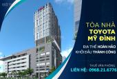 Cho thuê văn phòng 400m2 tại 15 đường Phạm Hùng, Phường Mỹ Đình 2, Nam Từ Liêm, Hà Nội