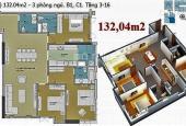 Bán căn Góc 3 PN chung cư Thủy Lợi 4, Nguyễn Xí, Bình Thạnh. Diện tích 132m2 (3 PN - 3 WC)