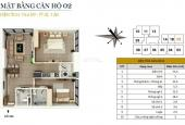 Bán căn góc 74m2, 2pn, nội thất cơ bản, giá 1,55 tỷ tại CC FLC Star Tower Quang Trung - 0946543583