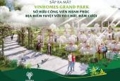 Sở hữu căn hộ Vinhomes Grand Park Q9 - để trở thành những cư dân trong đại đô thị đẳng cấp nhất TP
