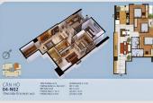 Căn 04 tầng trung chỉ 2.435tr( bao toàn bộ phí) 3 phòng ngủ, S= 99,4m2 tại New Hoziron 87 lĩnh nam