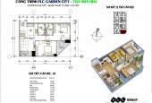 Bán căn hộ chung cư tại dự án FLC Garden City, Nam Từ Liêm, Hà Nội, diện tích 50m2, giá TT 800tr