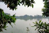 Bán đất nghỉ dưỡng lòng hồ siêu đẹp siêu rẻ DT 3576m2, tại Đồng Mô Sơn Tây: LH 0363166699