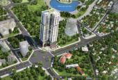 Bán căn chung cư tầng 18, DT: 82,4 m2, 2PN, hướng ĐN, tòa Golden Park Tower tại TT Cầu Giấy