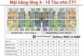 Bán căn hộ chung cư tại dự án Nam Đô Complex 609 Trương Định, Hoàng Mai, Hà Nội, DT 96m2