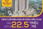 Bán căn hộ 2PN, ban công Đông Nam, tầng đẹp, giá 1.8 tỷ tại dự án The Terra An Hưng chỉ với 500tr