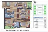 Chủ đầu tư bán chung cư CT4 Vimeco, Nguyễn Chánh, DT 148,2m2. 0983262899