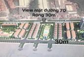Bán lô đấu giá FLC Premier Park, lô góc 3 mặt đường, 1xx tr/m2