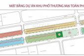 Bán shophouse kinh doanh dự án Toàn Phát, Thổ Tang gần chợ đầu mối Thổ Tang, Vĩnh Tường, Vĩnh Phúc