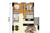 Cho thuê căn góc, view tòa Landmark 81, chung cư Bộ Công An, Quận 2, giá 10.5 triệu/tháng