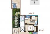 Tìm đơn vị cho thuê QLVH toàn bộ sàn tầng 9, CCMN 185m2 (20tr/tháng)