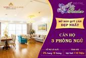 Chủ đầu tư mở bán căn hộ cao cấp 3PN, 133m2, tại dự án Iris Garden với nhiều ưu đãi lớn 0901799646