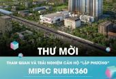 Bán căn góc 3PN S06, 95m2, tầng 12 Mipec Rubik 360, giá đợt 1, chỉ 3.9 tỷ, chính sách cực hấp dẫn