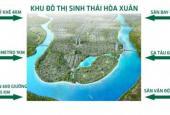 Bán đất Nam Hòa Xuân, B2.10 đối lưng shophouse Minh Mạng, DT: 150m2, giá đầu tư