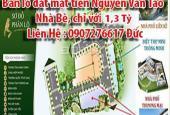 Bán lô đất mặt tiền Nguyễn Văn Tạo ,Nhà Bè, chỉ với 1,3 tỷ