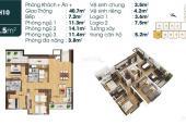 Bán căn hộ 4 phòng ngủ dự án TSG Lotus 190 Sài Đồng 112,5m2, giá 24 triệu/m2, giao nhà 03/2020