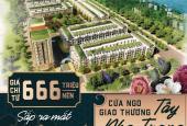 Hot, siêu phẩm đất nền khu đô thị phía Tây TP. Nha Trang, chỉ 6xx triệu/ nền