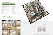Bán căn hộ 2PN + 1, giá tốt, ban công Nam mát mẻ quanh năm, để lại đủ đồ, giá 2.8 tỷ LH: 0904250981