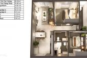 Topaz Elite, căn hộ 60m2 tháp D2C tầng 8, view hồ bơi tràn viền - LH 090.770.5399