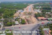 Bán lô đất sổ riêng 150m2, mặt tiền kinh doanh đường Mỹ Phước Tân Vạn sắp thông xe