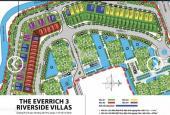 Bán lô 10x20m đất nền The EverRich 3 quận 7 view sông, giá 115 triệu/m², sổ riêng