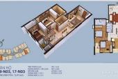 Bán căn 17 tầng trung 2PN, diện tích 73.9m2 có sổ đồ cơ bản chung cư New Horizon số 87 Lĩnh Nam