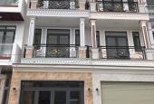 Bán nhà mới 1806 Huỳnh Tấn Phát, thị trấn Nhà Bè, DTSD=200m2, 3 lầu sân thượng + hẻm xe hơi