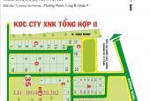 Cần bán các lô đất KDC Xuất Nhập Khẩu Tổng Hợp II, Phú Hữu, Quận 9, đối diện Park Riverside