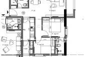 Bán căn hộ cao cấp 2 phòng ngủ B806 dự án The Manor Crown Huế
