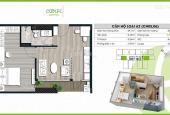Bán căn hộ 3 phòng ngủ A1 - 2204 - Ecolife Tố Hữu, giá chỉ 2,9 tỷ, 0911143223