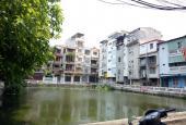Bán nhà 1 mặt hồ, 1 mặt phố, đường 2 chiều, hè rộng, ô tô đậu đỗ thoải mái