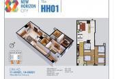Bán căn góc 2 phòng ngủ, chỉ 1.97 tỷ chung cư 87 Lĩnh Nam New Horizon, LH 0986204569