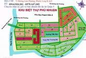 Bán lô biệt thự giá tốt dự án Phú Nhuận Quận 9, lô B, hướng Đông Nam, giá 59tr/m2