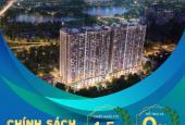 Phương Đông Green Park giá chỉ từ 25tr/m2, DT 54m2, 2PN, 2WC, hỗ trợ 0% đến khi nhận nhà