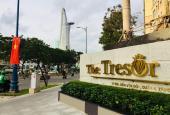 Bán gấp CH 2PN 76m2 hoàn thiện cơ bản The Tresor, giá 4.3 tỷ bao thuế phí, nhà HTCB