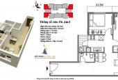 Chính chủ bán căn 56,4m2 tòa M6, chung cư Mipec City View Kiến Hưng. LH: 0975.34.2826