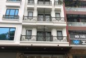 Cho thuê nhà  mới xây mặt phố nguyễn quốc trị 110m x 7T + hầm thông sàn