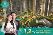 Bán căn hộ studio vị trí đẹp nhất Vinhomes Smart City giá 1,1 tỷ, HTLS 0% 24 tháng, CK 10%