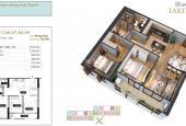 Bán căn hộ 2PN, 2WC dự án Anland Lake View