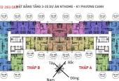 Cần nhượng lại căn 59m2 tầng đẹp chung cư NHS Phương Canh, giá rẻ nhất thị trường
