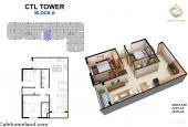 Kẹt tiền chủ nhà cần bán gấp căn 60m2 2PN 1WC giá 1.65 tỷ bao thuê phí và VAT